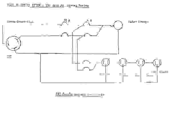 110 volts wiring diagram
